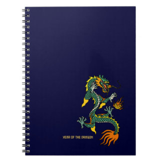 Chinese Year of the Dragon Notebook