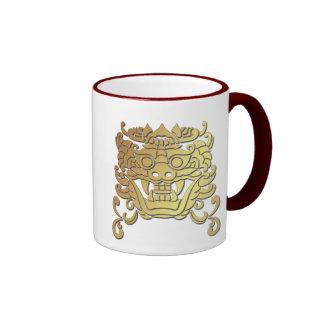 Chinese Year of the Dragon Ringer Mug