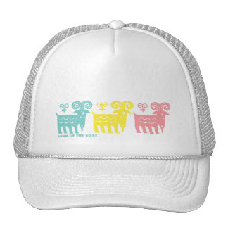 Chinese Year of the Goat Fun Gift Hats for Kids