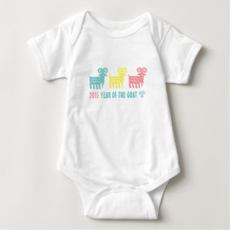 Chinese Year of the Goat Fun Gift Infant Creeper