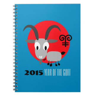 Chinese Year of the Goat Fun Gift Notebooks