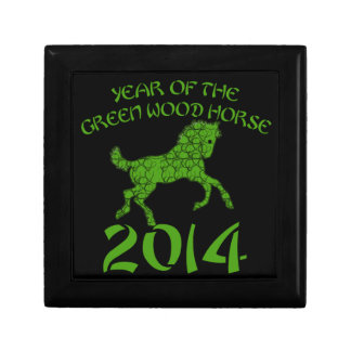 Chinese Year of the Green Wood Horse Gift Box