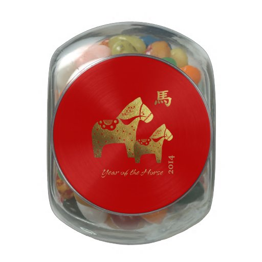 Chinese Year of the Horse Gift Jelly Belly Tins