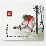 Chinese Year of the Monkey Gift Mousepads