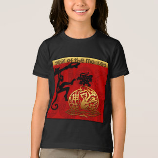 Chinese Year of The Monkey Zodiac sign T-Shirt
