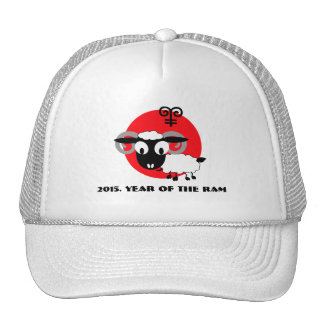Chinese Year of the Ram Fun Gift Hats
