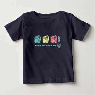 Chinese Year of the Ram Gift Baby T-Shirts
