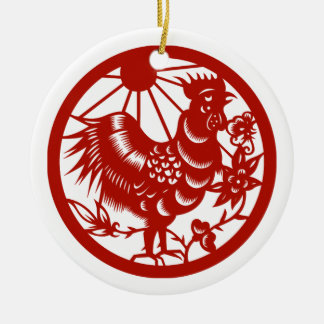 Chinese Year of the Rooster 2017 Gift Ornaments