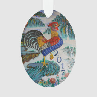 Chinese Year of the Rooster 2017, Optional Photo Ornament