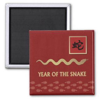 Chinese Year of the Snake Gift Magnet