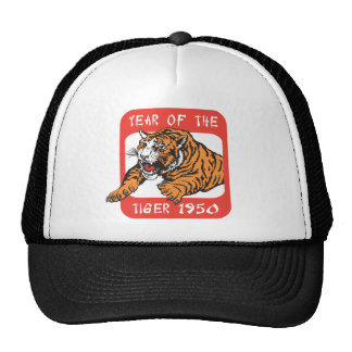 Chinese Year of The Tiger 1950 Gift Cap