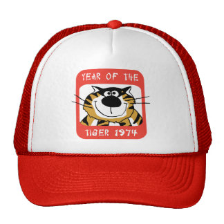 Chinese Year of The Tiger 1974 Gift Cap