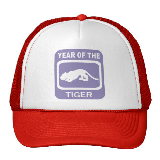 Chinese Year of The Tiger Gift Mesh Hat