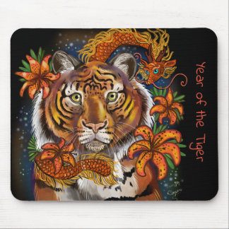 Chinese Year of the Tiger Mouse Mat