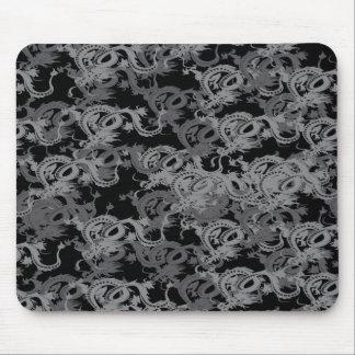 Chinese Ying Yang Dragon Mouse Pad