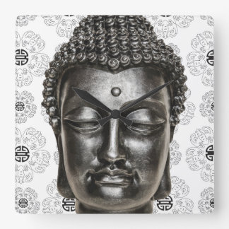 Chinese Zen Buddha Wall Clock