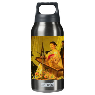 Chinese zither player, YUST, Yanji, Jilin Insulated Water Bottle