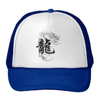 Chinese Zodiac Dragon Gift Mesh Hat
