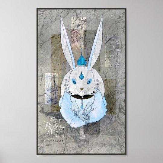 Chinese Zodiac Rabbit Poster