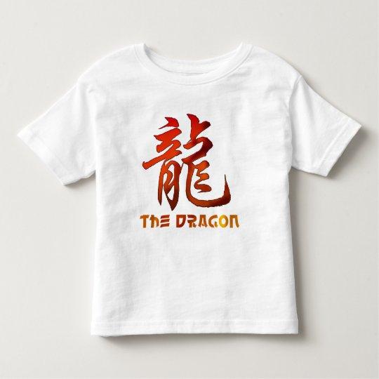 Chinese Zodiac Sign Dragon Toddler T-Shirt