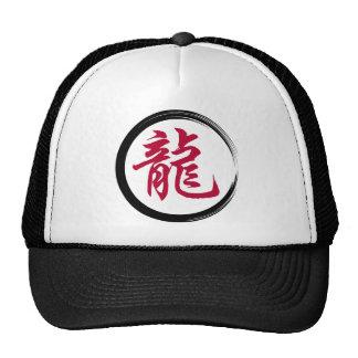 Chinese Zodiac Symbol Dragon Mesh Hat