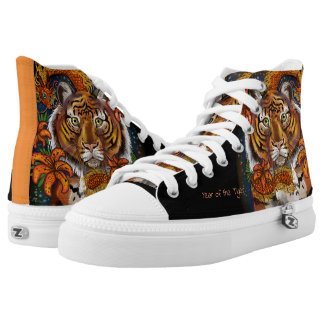 Chinese Zodiac Tiger High Tops