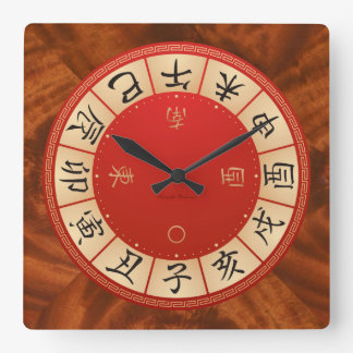 Chinese Zodiac Wall Clock