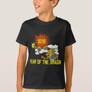 Chinese Zodiac Year of The Dragon 2012 Dark T-Shirt