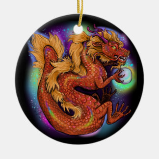 Chinese Zodiac Year of the Dragon Christmas Ornament