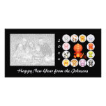 Chinese Zodiac Year of the Dragon Personalized Photo Card