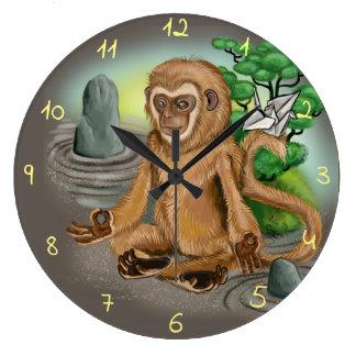Chinese Zodiac Year of the Monkey Large Clock