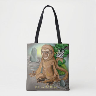 Chinese Zodiac Year of the Monkey Tote Bag