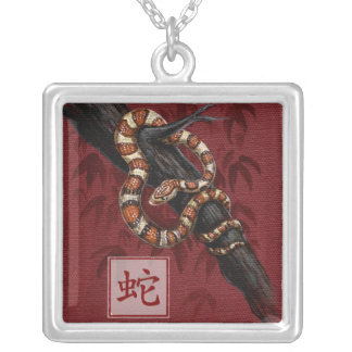 Chinese Zodiac Year of the Snake Necklace