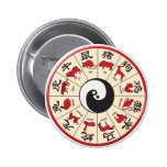 ChineseZodiac 6 Cm Round Badge