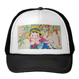 Chinestyle Kid Trucker Hat