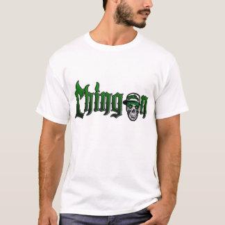 chingon skull cap green 3 T-Shirt