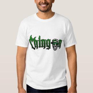 chingon skull cap green 3 t-shirts