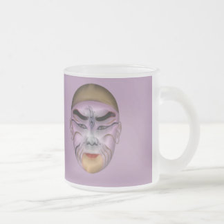 Chinise Transformation 1 Frosted Glass Mug