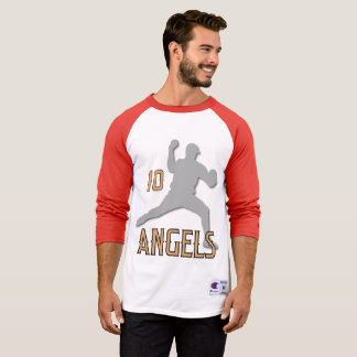 Chino Hills Angels 3/4 Sleeve Raglan T-Shirt
