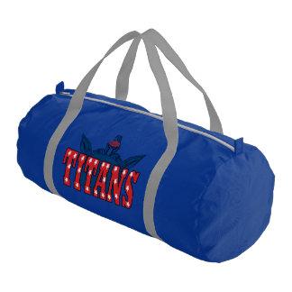 Chino Valley Titans Blue Duffle Bag Gym Duffel Bag