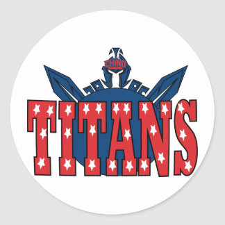 Chino Valley Titans Clear Sticker