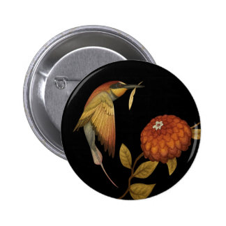 Chinoiserie Birds I - Button