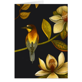 Chinoiserie Birds IV - Greeting Card