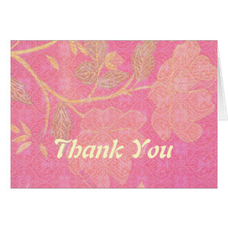 Chinoiserie custom greeting card