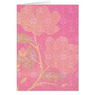 Chinoiserie custom greeting card