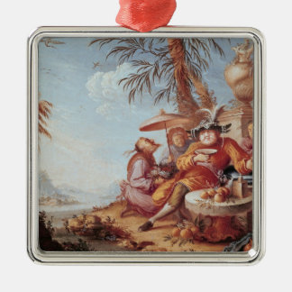 Chinoiserie Christmas Tree Ornaments