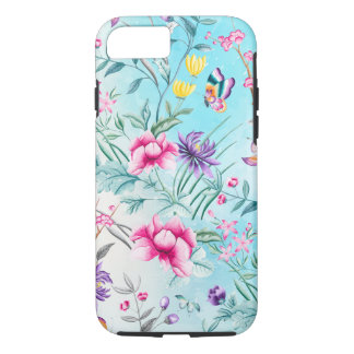 Chinoiserie Floral Pattern iPhone 8/7 Case