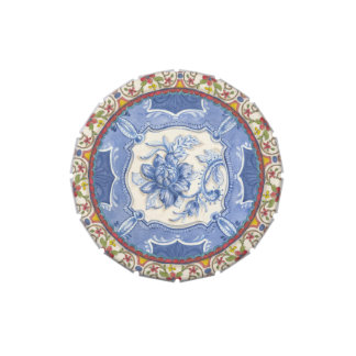 Chinoiserie Lotus Candy Tin