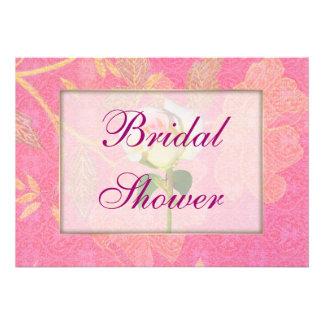 Chinoiserie WEDDING Bridal Shower Custom Announcement