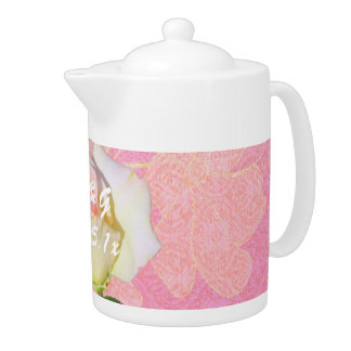 Chinoiserie WEDDING Gift Teapot